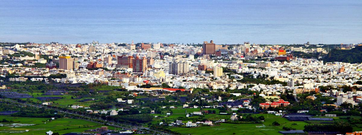 台東市全景